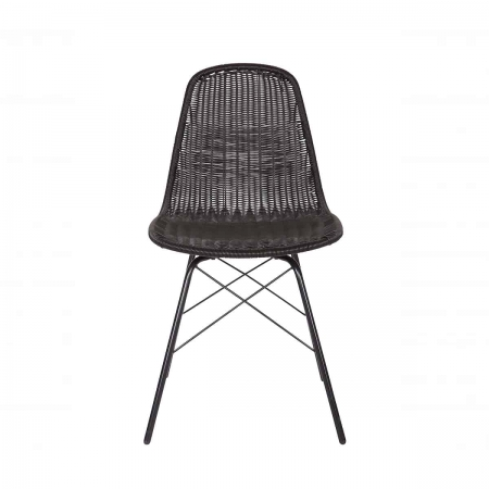Deze Spun stoel van BePureHome is voor binnen en buiten, deze trendy kuipstoel! De rotan look is helemaal hip deze tijd.