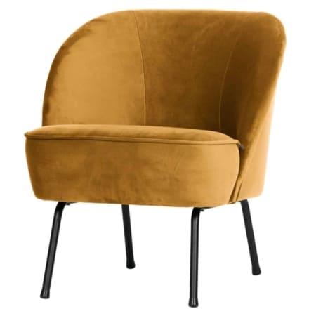 Met de Vogue fauteuil uit de BePureHome collectie haalt u een stijlvolle fauteuil in huis. Deze gave en tijdloze fauteuil heeft bovendien een zeer comfortabele zit. Een echte aanwinst!