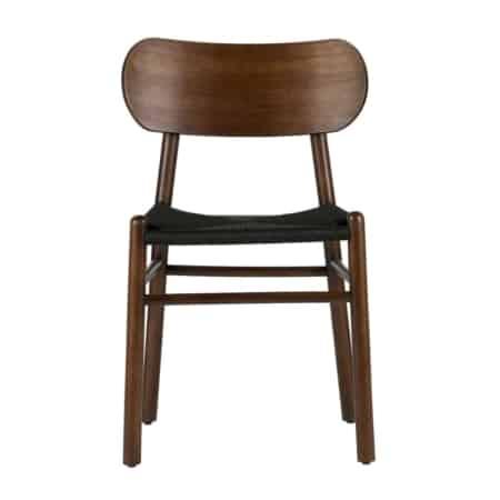 Een tijdloze en stijlvolle stoel. Deze omschrijving past perfect bij de Jointly eetkamerstoel uit de BePureHome collectie. Het frame is gemaakt van hout (rubberwood) en de zitting van geweven rotan.