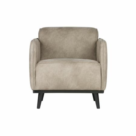 BePureHome Statement fauteuil met arm elephant skin