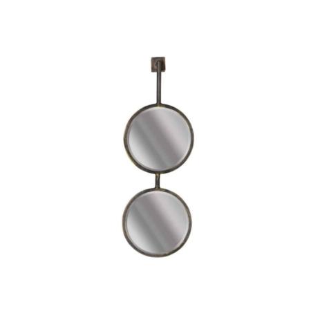 BePureHome Chain dubbele spiegel antique zwart Medium