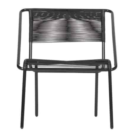 Voor binnen en buiten is deze stapelbare trendy stoel Wisp van het interieurmerk BePureHome!