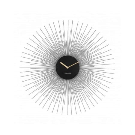 De wand klok Peony uit de KARLSSON collectie is een echte sfeer maker voor aan de wand.