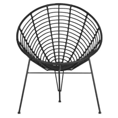 Kom helemaal tot rust in de Jane loungestoel uit de WOOOD collectie. Zowel binnen als buiten is deze stoel een mooie blikvanger. Deze zitting van de stoel is gemaakt van PE dat is afgewerkt in een zwarte kleur.