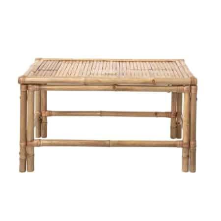 Let the summer begin! Met deze bamboe salontafel Sole van Bloomingville haal jij het Ibiza sfeertje in eigen tuin.