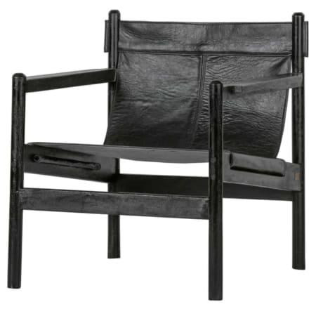 Deze Chill fauteuil, uit de collectie van BePureHome, is een handgemaakt product, Nederlands design.