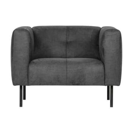 De fauteuil SKIN is van het Nederlandse merk VTwonen.