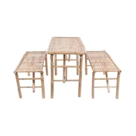 bamboe tuin set