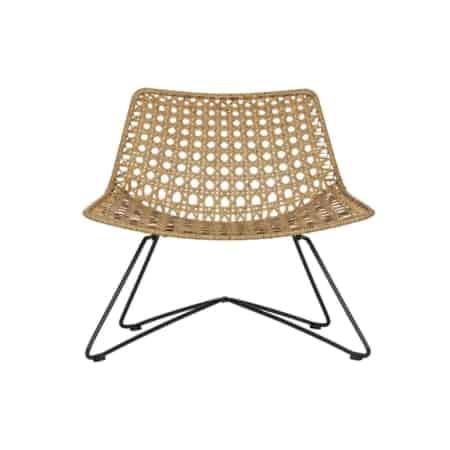 Fauteuil Weave is een trendy loungefauteuil van het interieurmerk WOOOD.
