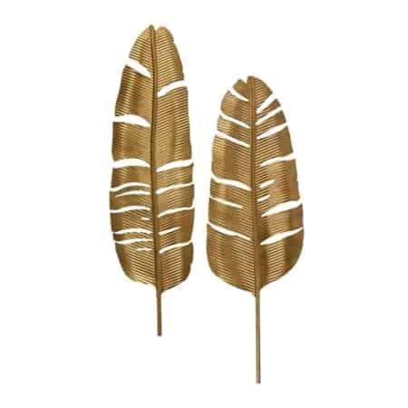 De veren zijn gemaakt van metaal en afkomstig uit de BePureHome collectie.