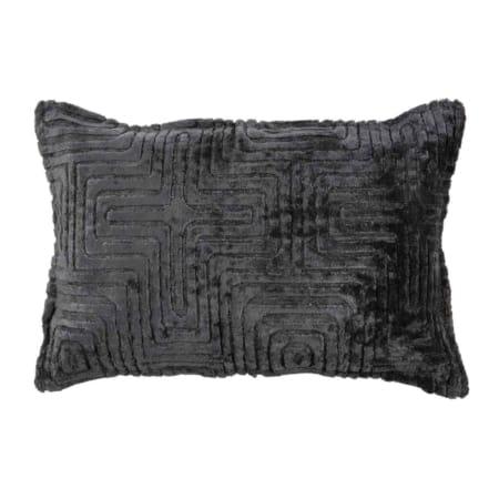 Ezra kussen charcoal 40x60cm