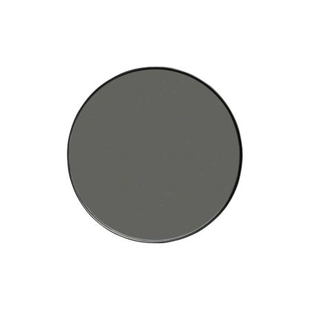 WOOOD Doutzen spiegel metaal zwart ø50cm