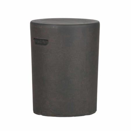 WOOOD heeft deze nieuwe stoere bijzettafel Duke met betonlook in de collectie.