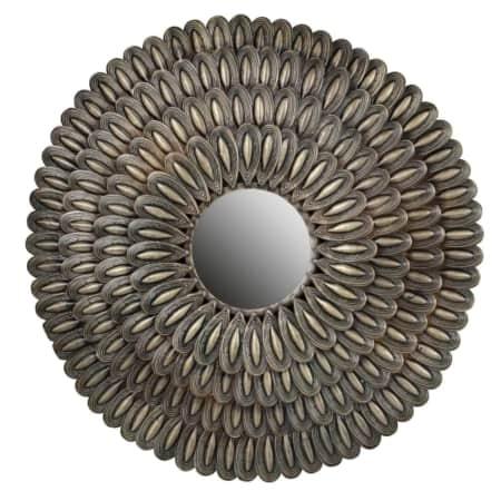 Uit de collectie van BePureHome is deze handgemaakte spiegel Husk