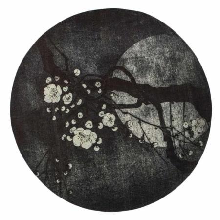 Night Blossom vloerkleed komt uit de collectie van het Nederlandse merk BePureHome.