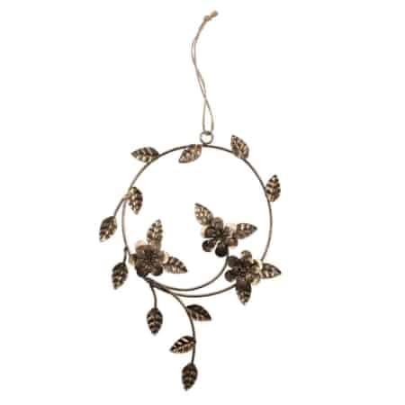 Dangle Flower decoratieve hanger komt uit de collectie van het Nederlandse merk BePureHome.
