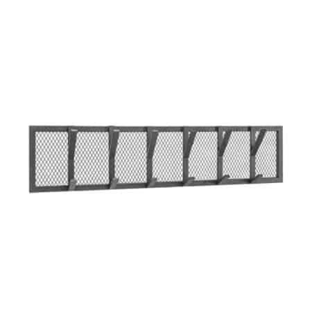 Kapstok Gruff van LABEL51 is voorzien van zwaar metaal dat bijdraagt aan het stoere karakter van de kapstok.