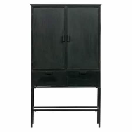 Deze stoere, slanke Wish 2-deurs kast komt de collectie van het Nederlandse merk BePureHome.