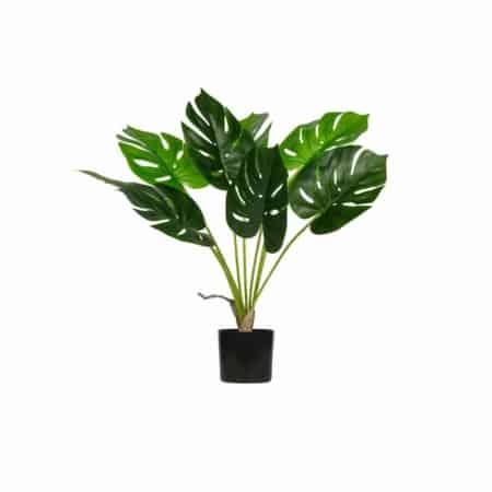 Deze Monstera kunstplant in pot komt uit de collectie van het Nederlandse merk WOOOD.