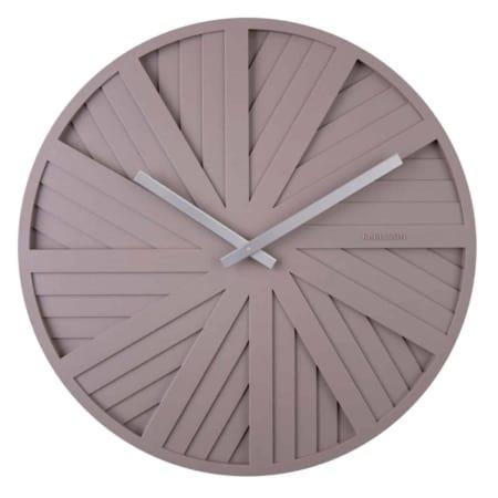 Deze klok is een mooi accessoires voor aan je muur van Karlsson.