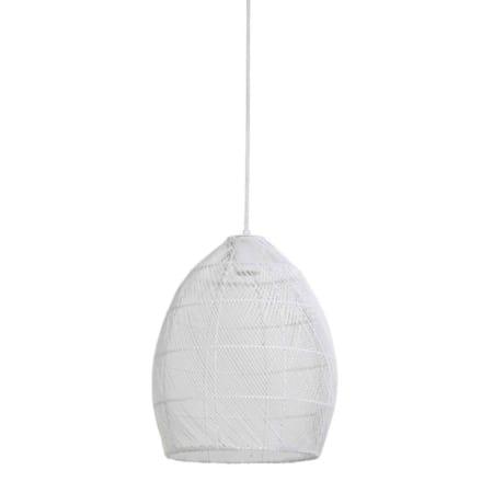 ZES10 Collectie Meya hanglamp wit ø30x37cm