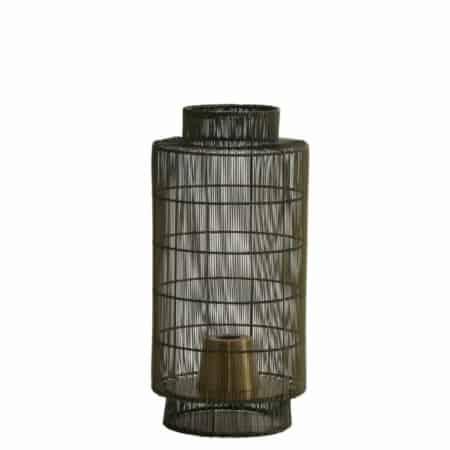 Tafellampen, zoals tafellamp GRUARO draad antiek brons,