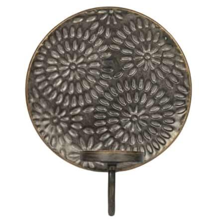 Glare Flower is een speelse kaarsenhouder voor aan de wand en komt uit de collectie van het Nederlandse merk BePureHome.