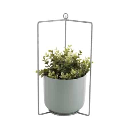 De hangende planten pot spatial van PT fleuren je huis op.