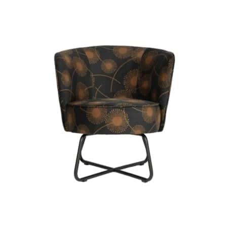 Deze trendy fauteuil Bloom is van het Nederlandse merk WOOOD Exclusive.