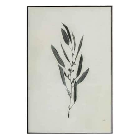 Deze eenvoudige kunstlijst Yaro uit de collectie van het Nederlandse merk WOOOD