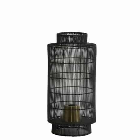 Tafellampen, zoals tafellamp GRUARO draad zwart,