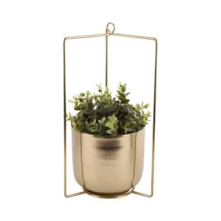 De hangende planten pot spatial van PT fleurt je huis op.