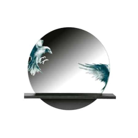 De spiegel Raven komt uit de collectie van het Nederlandse merk BePureHome