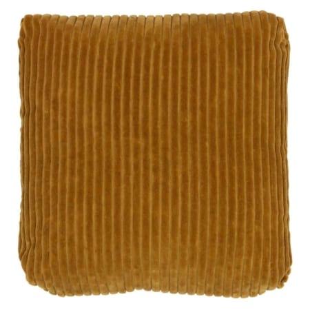Dit vierkante Edge kussen, 45x45 cm, komt uit de collectie van het Nederlandse merk BePureHome.