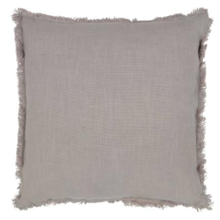 Dit vierkante Tassel kussen, 45x45 cm, komt uit de collectie van het Nederlandse merk BePureHome.