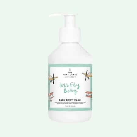vegan body wash voor baby's