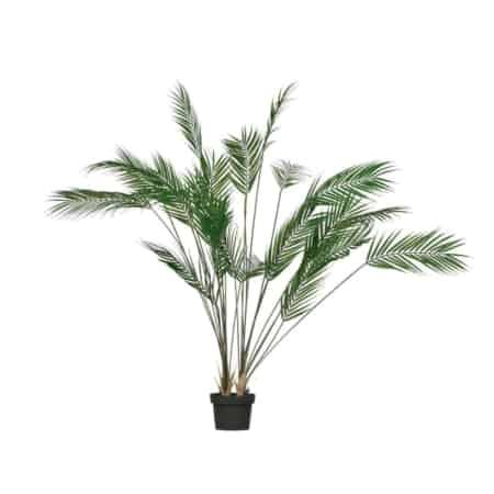 Deze Palm kunstplant komt uit de collectie van het Nederlandse merk WOOOD.