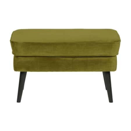 Deze comfortabele, elegante hocker Rocco is van het Nederlandse merk WOOOD.