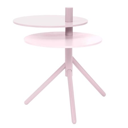 Deze strakke en speelse Viola tafel is een ontwerp van Bloomingville