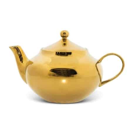 Urban Nature Culture Good Morning Tea pot Gold - in Theepotten