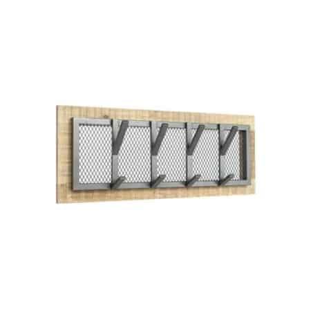 Kapstok Crude van LABEL51 is voorzien van zwaar metaal