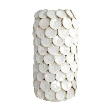 Dot van House Doctor is een prachtige vaas van geglazuurd keramiek.