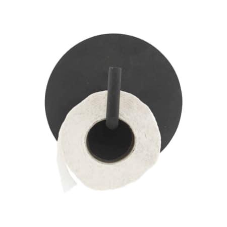 Text van het Scandinavische merk House Doctor is een alternatieve en moderne toiletrol houder voor de badkamer of toilet. De look is grafisch en strak en past daardoor in een moderne inrichting. De toiletrol houder is gemaakt van zwart aluminium.