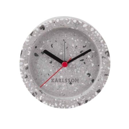 Deze Tom alarmklok van KARLSSON zorgt voor een lach op je gezicht.
