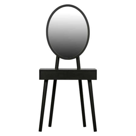 Deze moderne, slanke hal/kaptafel Vanity is afkomstig uit de collectie van het Nederlandse merk WOOOD.