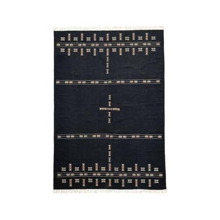 Dit prachtige tapijt van House Doctor wordt een uniek item in je interieur