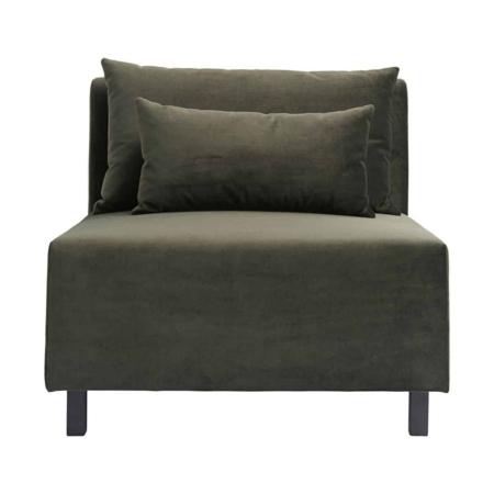 Housedoctor Sofa Slow midden element velvet groen