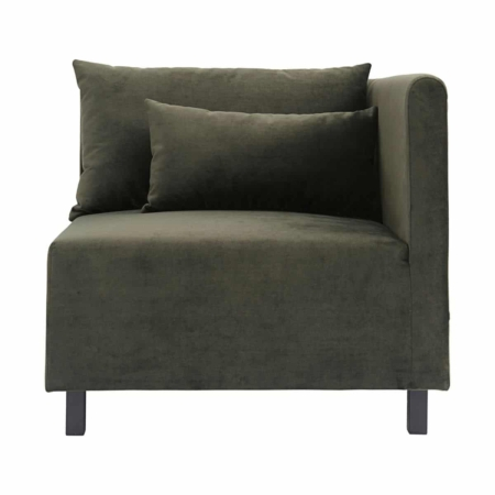 Housedoctor Sofa Slow hoek element velvet groen