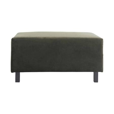 Dit hocker element is uitgevoerd in de mooiste groene kleur en in de zachtste velvet. Dit meubel is een plek van ontspanning als een lange dag voorbij is. Combineer de hocker met de andere Sofa elementen van House Doctor of plaats het als decoratief element in je huis.