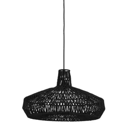 Wie wil deze leuke Masey hanglamp in de kleur zwart nou niet?!